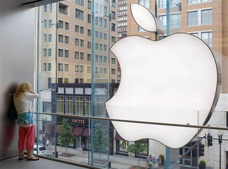 Apple posts first revenue drop in a decade