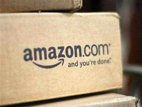 Amazon posts net loss but shares rise