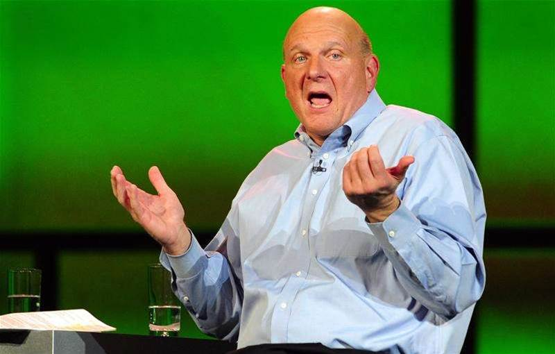 Ballmer eyes 500m Windows 8 sales in a year