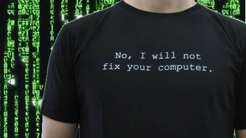 Discuss: Are you happy to help fix your friends' computers?