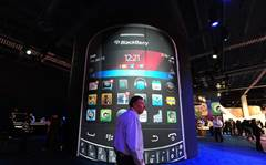 BlackBerry hits bump in turnaround road, shares plunge