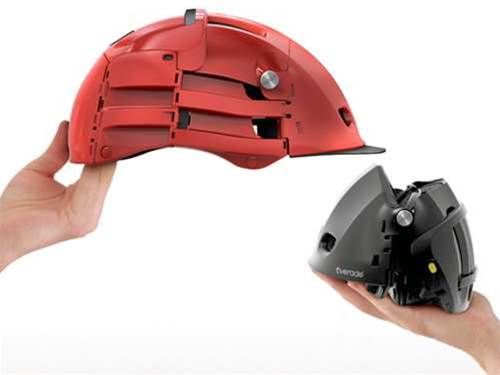 Bike tech: Overade folding bike helmets are a commuter's dream