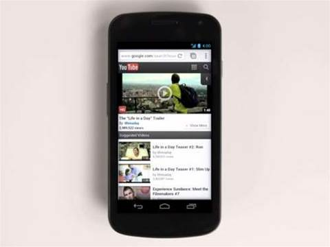 Google fires up Chrome for Android