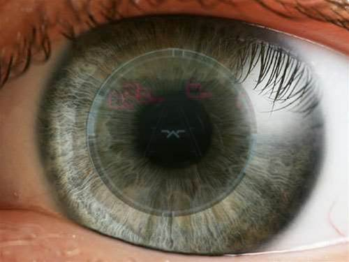 Future tech: virtual reality contact lenses
