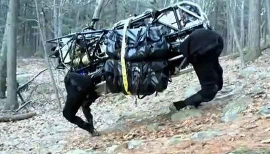 Video: DARPA's Big Dog LS3 robot struts its stuff