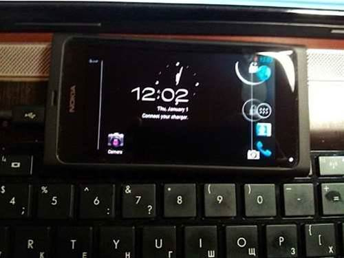 Nokia N9 spotted