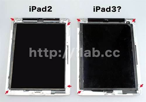 Leaked iPad 3 parts point to retina display