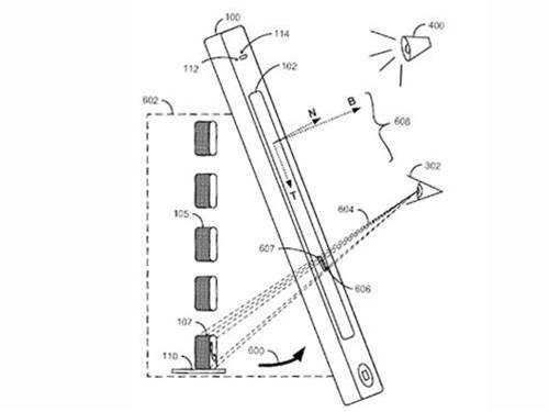 Apple working on 3D interface