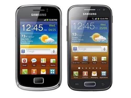 Samsung unveils budget Galaxies