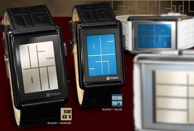 Geek chic: Tokyo Flash Kisai Stencil LCD Watch