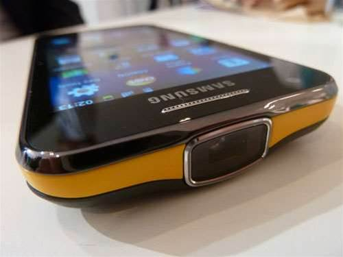 MWC 2012 – Samsung Galaxy Beam hands-on