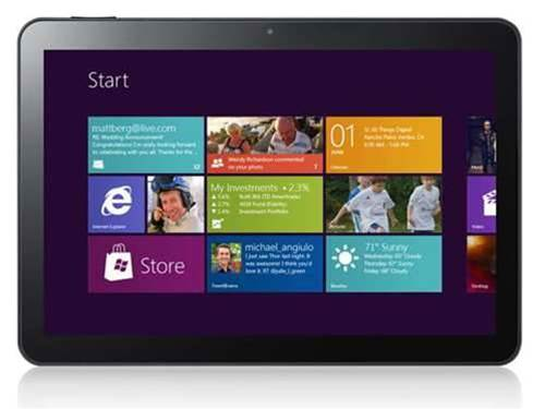 Santos pushes Windows 8 tablets as laptop replacement