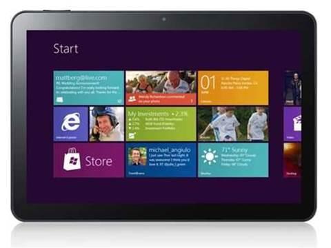 Santos pushes Windows 8 tablets as laptop replacement