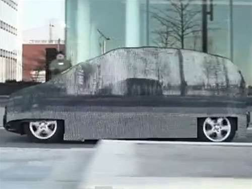 Viral of the week: invisible Mercedes