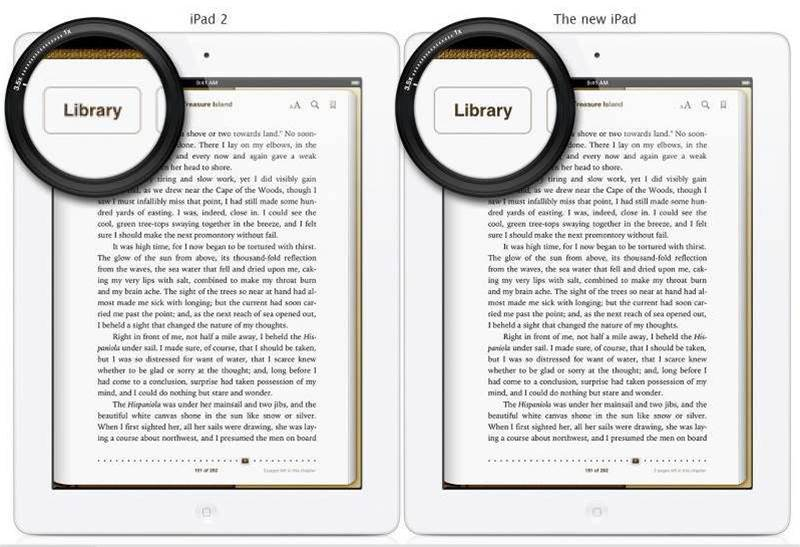 Kindle app for iOS updated for iPad 3's retina display