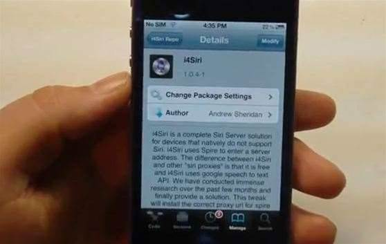 i4Siri app brings Siri to all iOS 5 devices… if they're jailbroken