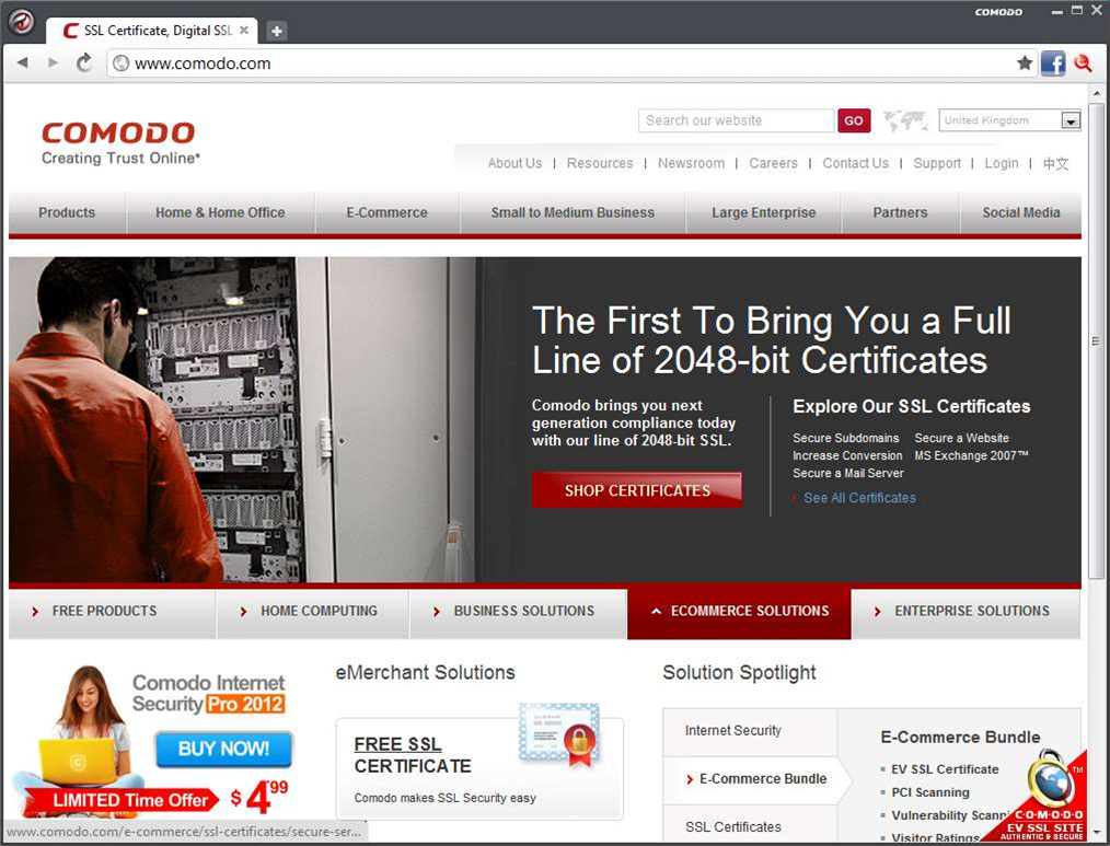 Get peace of mind with Comodo Dragon 17.5 secure web browser
