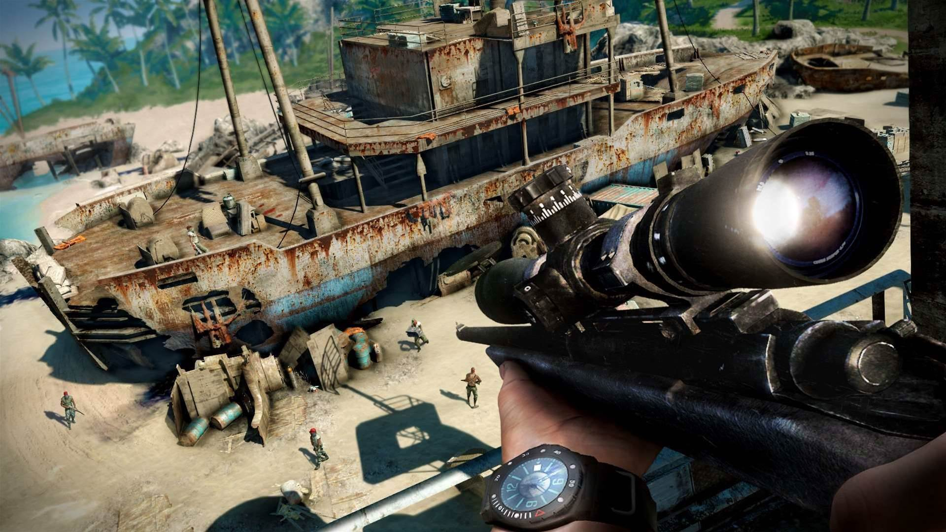 New Far Cry 3 trailer looks awesome, atrocious Australian accent and all