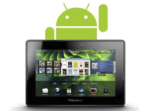 RIM to update Android app side-loading for BlackBerry PlayBook