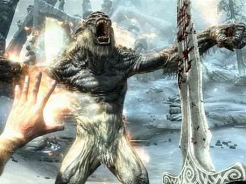 Skyrim Kinect support is out today