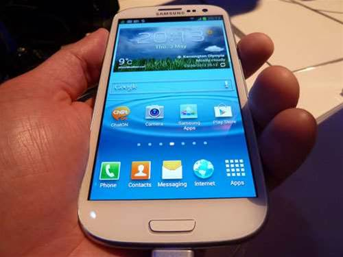 Hands on: Samsung Galaxy S3