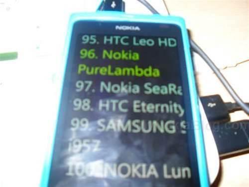 Nokia Windows Phone 8 mobiles leaked