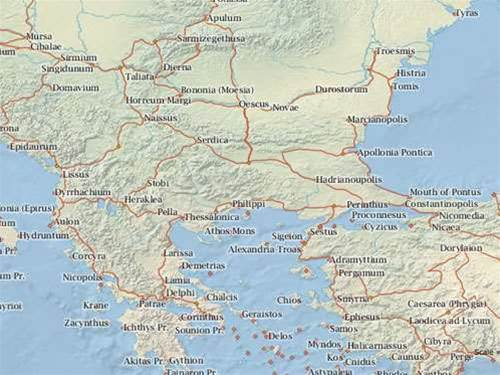 Google Maps for Ancient Rome lets you budget 2000 year-old roadtrips