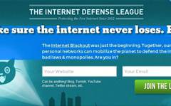 Sites shine 'bat signal' for online freedom