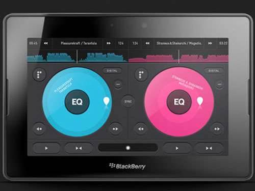 PaceMaker DJ app spins onto BlackBerry PlayBook