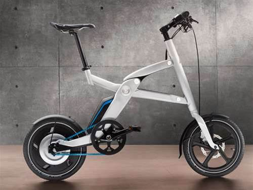 BMW i Pedelec electric folding bike revealed