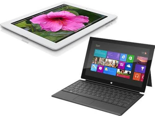 Microsoft Surface vs iPad 3