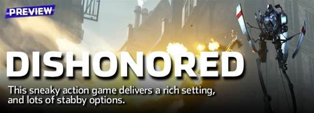 Dishonored preview - stealth perfection