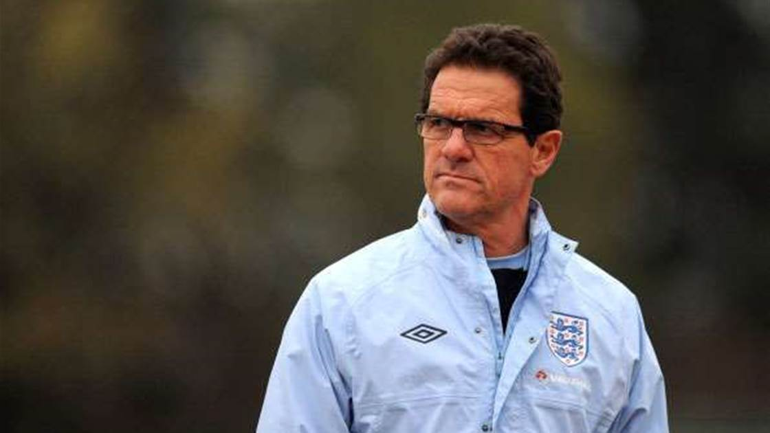 Capello Hits Back At Rooney