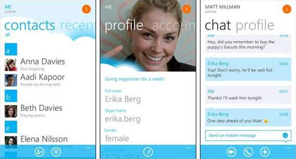 Product Brief: Skype for Windows Phone