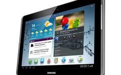 Samsung tablet to match iPad retina display