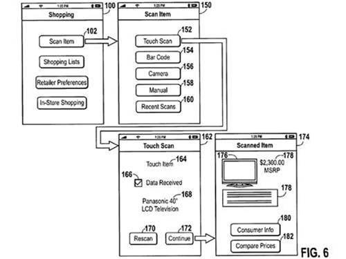 Apple plots NFC shopping app