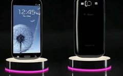 Black Samsung Galaxy S III appears
