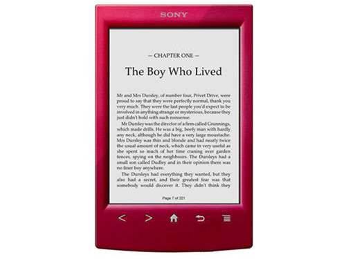 Sony PRS-T2 e-reader comes with Potter