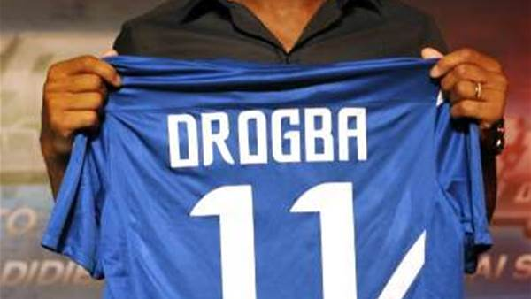 Drogba 'Really Happy' In China