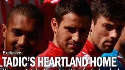 Tadic's Home Is Heart