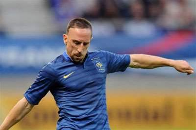Ribery Calls For French Courage