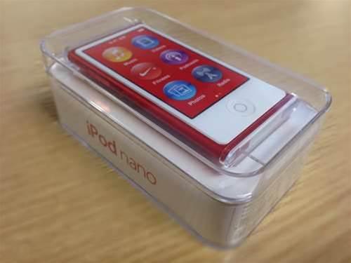 Apple iPod Nano 2012 unboxing