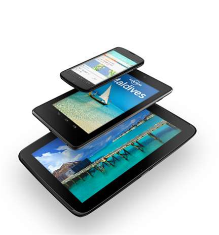 Google unveils first 10-inch Nexus tablet