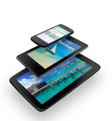 Google unveils first 10-inch Nexus tablet