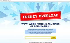 Click Frenzy site bombs in online sale