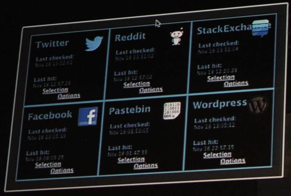 The tool GUI