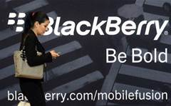 BlackBerry considers messaging service spinoff: report