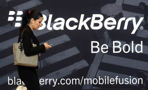 BlackBerry considers spinoff of messaging service: report