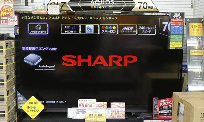 Sharp posts third-quarter profit