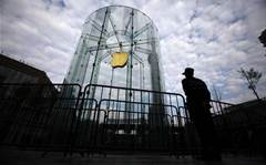 Apple hit by hackers